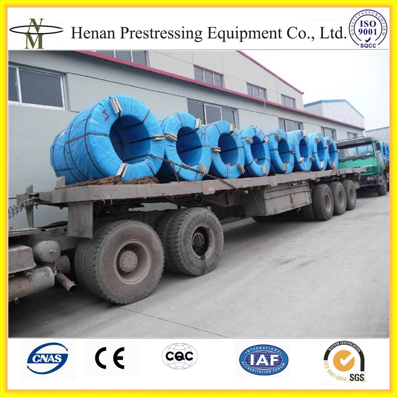 China Cnm Prestressed 7 Wire Bonded PC Strand Photos & Pictures ...