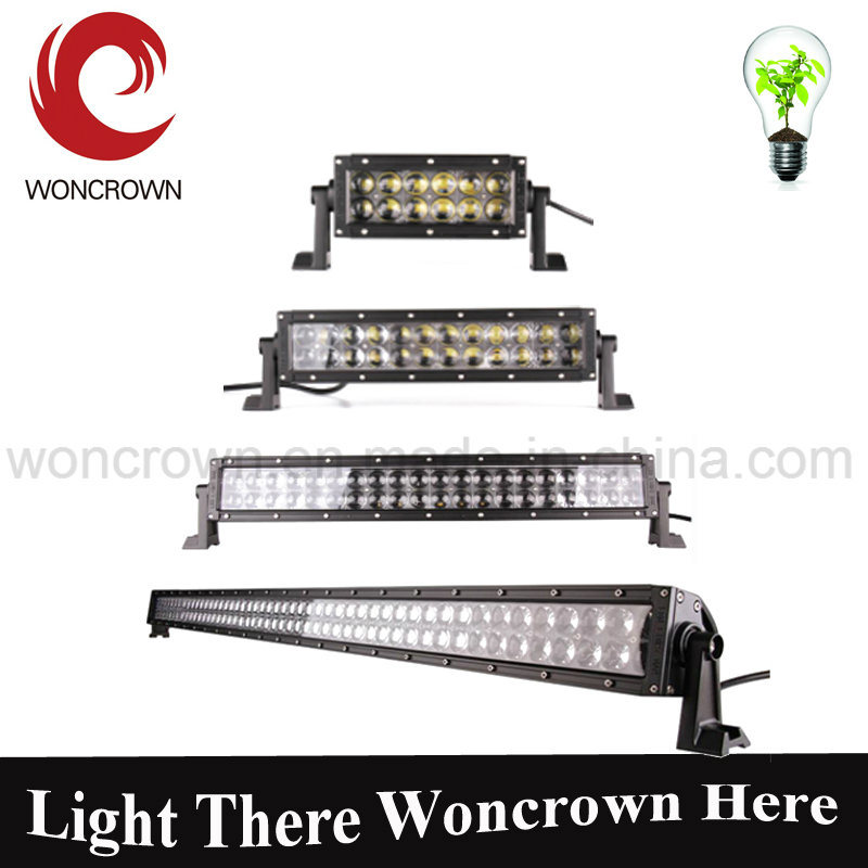 30W 4D 7inch Newest Single Row LED Strip Lights Best Offroad SUV LED Light Bar