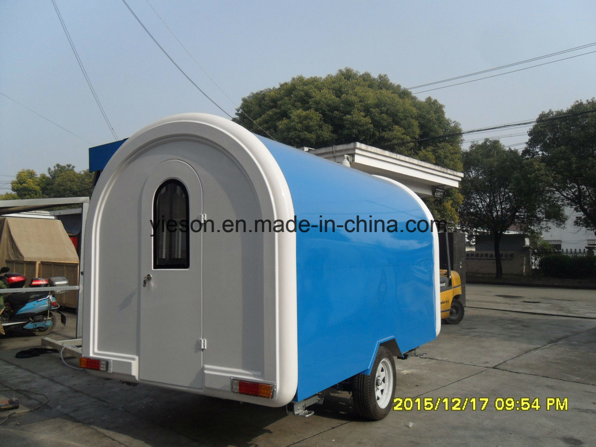 High Quality Fast Food Ice Cream Vending Trailer