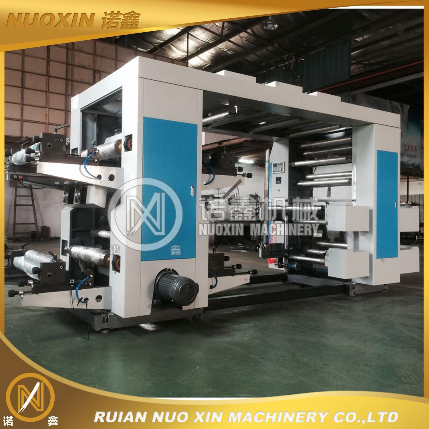 4 Colour Non Woven Fabric Flexographic Printing Machine (NX) pictures & photos