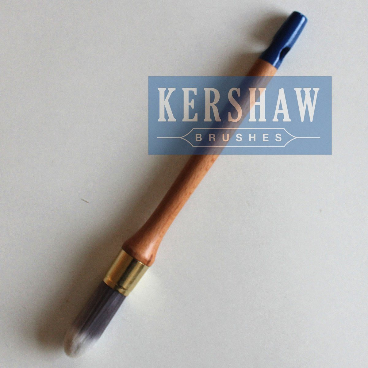 Round Brush (Paintbrush with Synthetic filament and beech wood, tip-round brush)