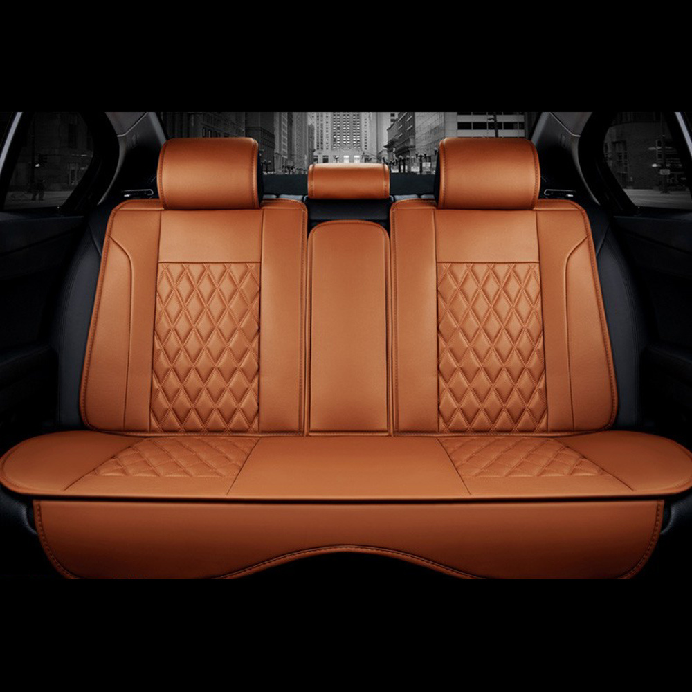 China Luxury 3d Full Surround Car Seat Cover Pu Leather Seat Covers