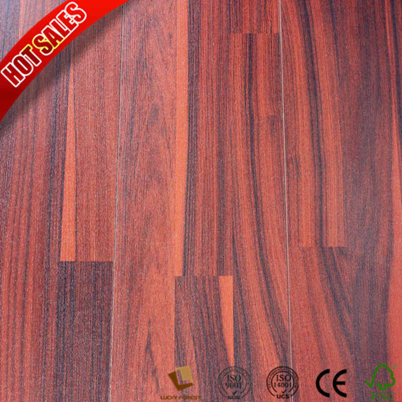 China Canada Maple U Groove Oak Laminate Flooring Hardwood Building Material