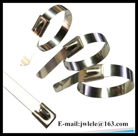 Self-Locking Stainless Steel Ball Lock Cable Ties