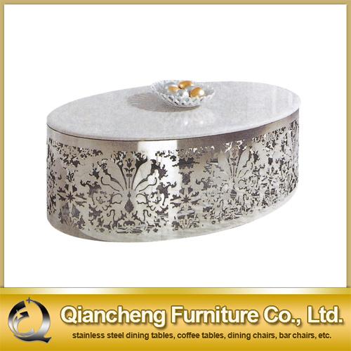 China Oval Shape Marble Coffee Table China Coffee Table End Table - Oval shaped marble coffee table