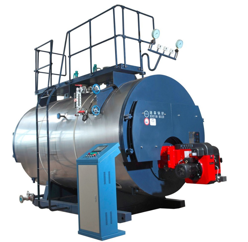 China Gas Fired Packaged Fire Tube Steam Boiler with European Burner ...