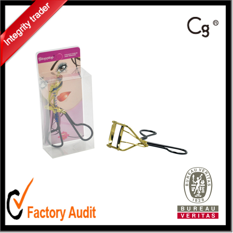 China Top High Quality Best Eyelash Curler For Short Lashes Gold