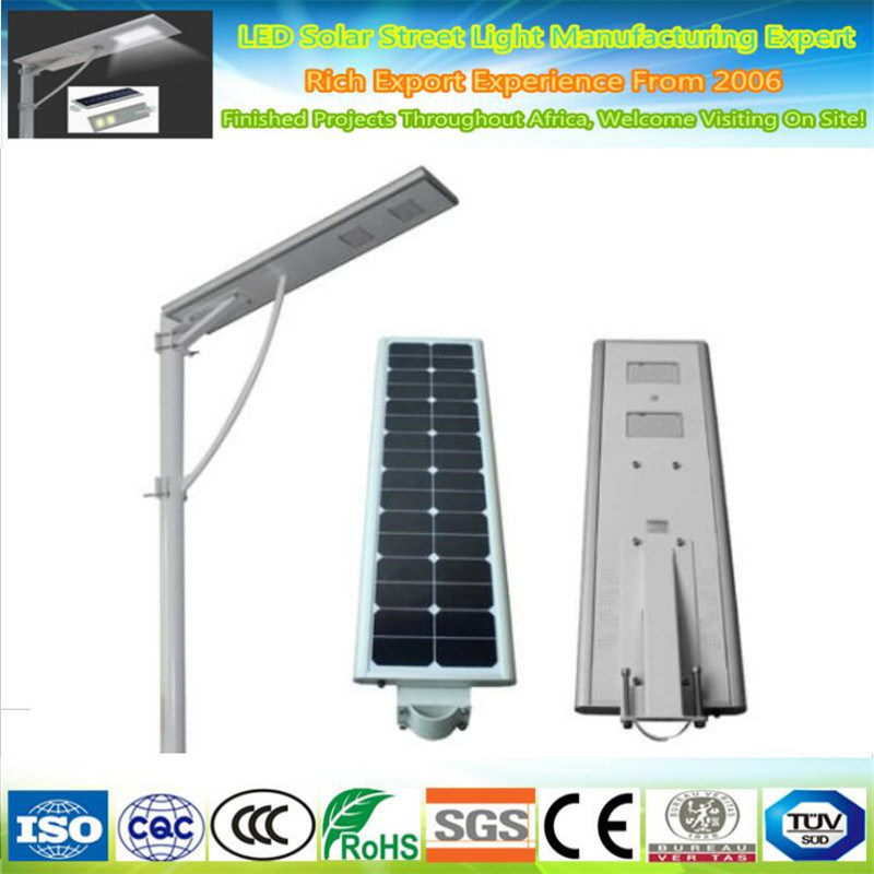 China Outdoor 100w Solar Led Street Lighting System Lamp Bulbs New Product All In One Ip65 Light