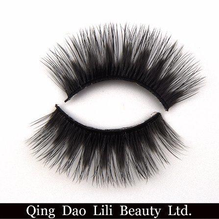 0cc6b7d6f95 OEM 3D Silk False Eyelashes 100% Winged Criss-Cross 3D Silk Mink Eyelashes  Synthetic Hair False Lash