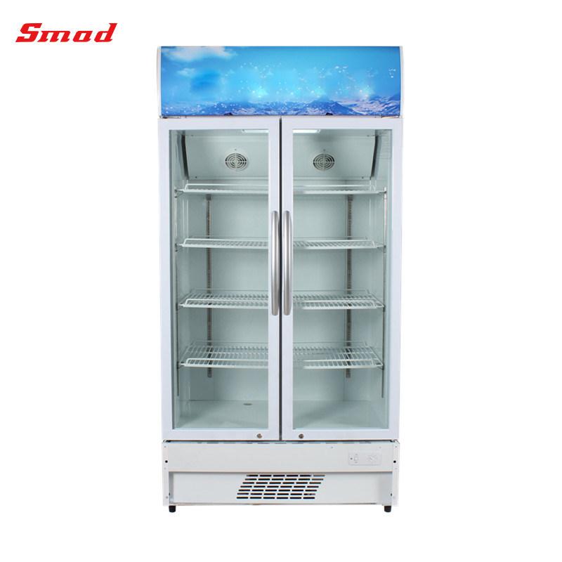 China 268l Single Door Display Freezer Showcase Glass Door Display