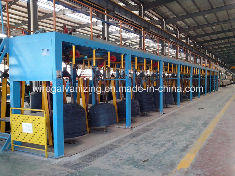 Steel Wire High-Low Temperature Tempering Lead Furnace