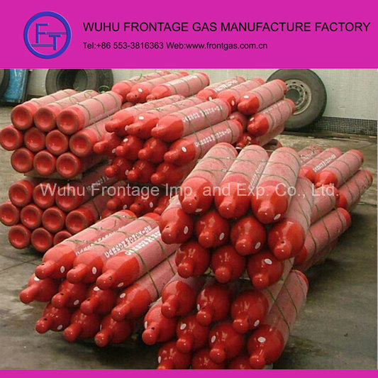 High Pressure Seamless Steel Cylinder Carbon Monoxide Gas