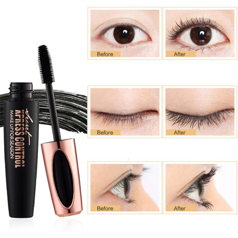 98f005b7c61 Best Selling Products 4D Silk Fiber Lash Mascara Waterproof Eyelash  Extension Black Thick Lengthening Eye Lashes Cosmetics