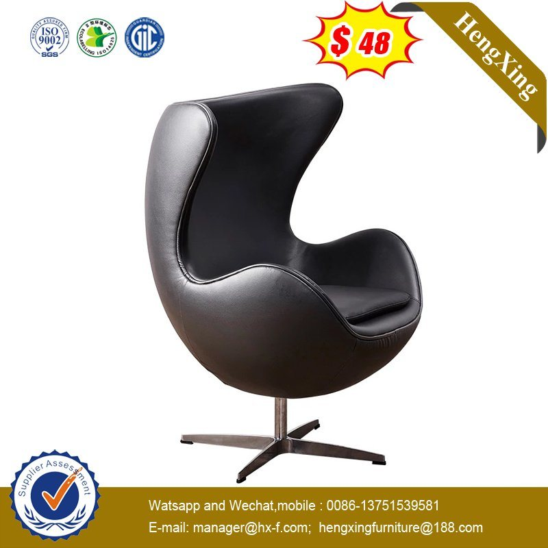Hot Sell Black PU Comfortable Art Atmosphere Creative Egg Chair pictures & photos