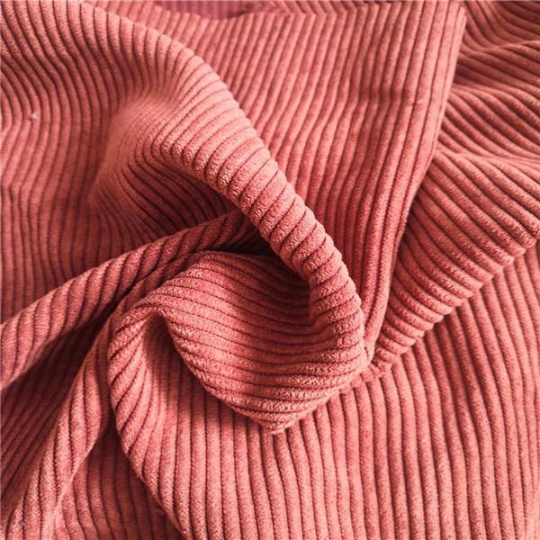 China Polyester Corduroy Wide Wale Fashion Colour Garment Sofa