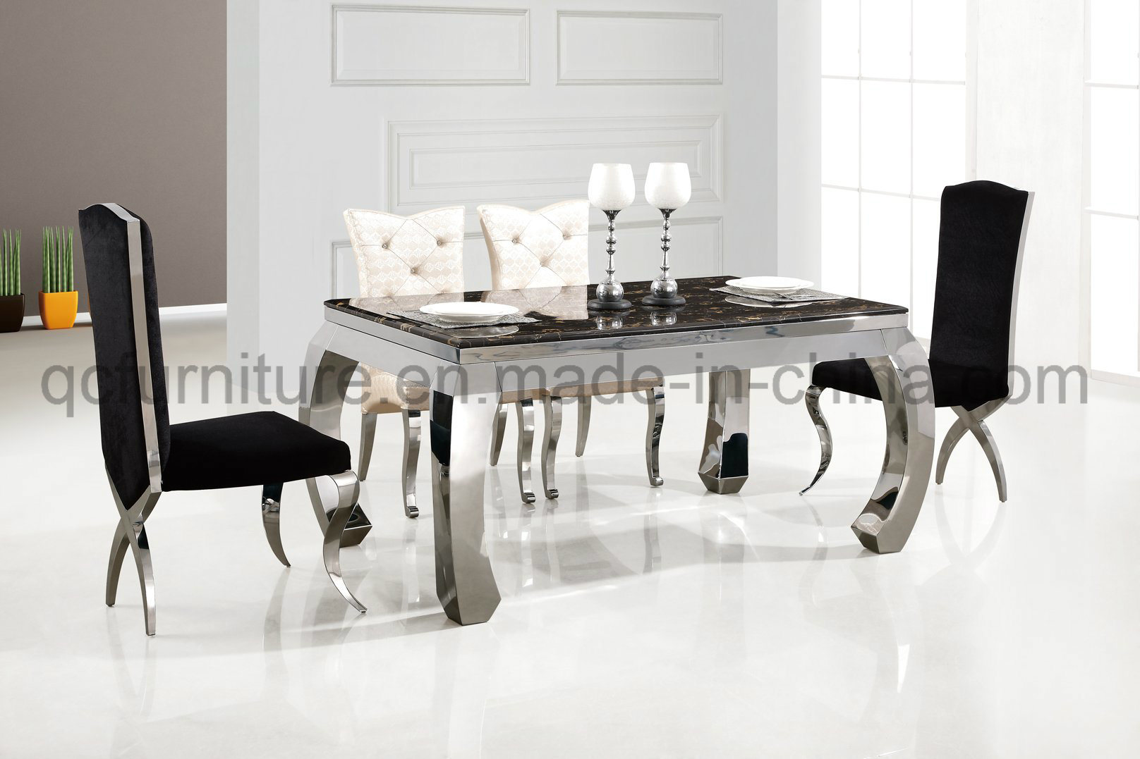 best quality dining room furniture. China 2017 Hot Selling Good Quality Marble Dining Table And Chairs - Table, Best Room Furniture D