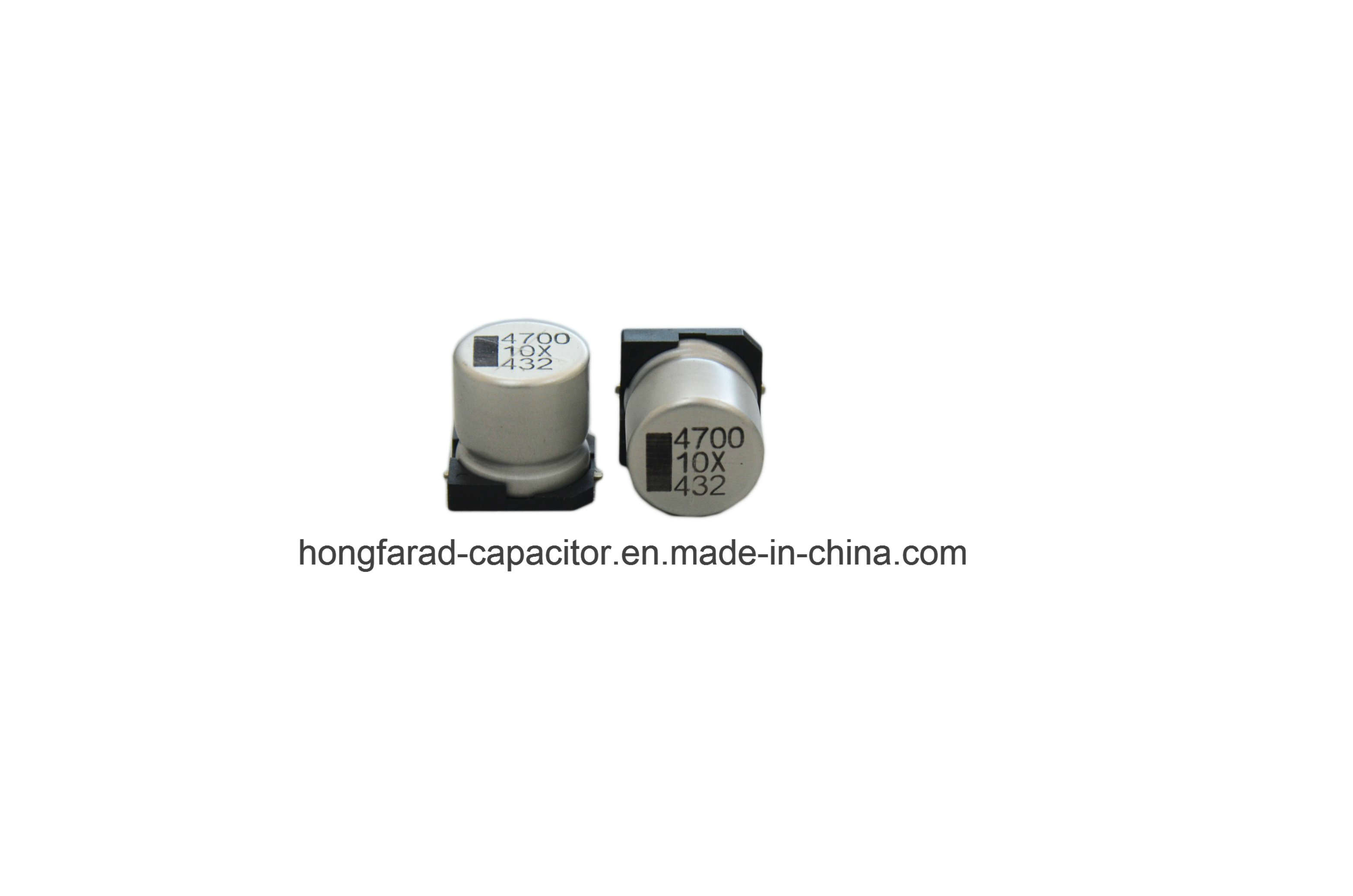 Vt 1000h at 105c SMD Aluminum Electrolytic Capacitor pictures & photos