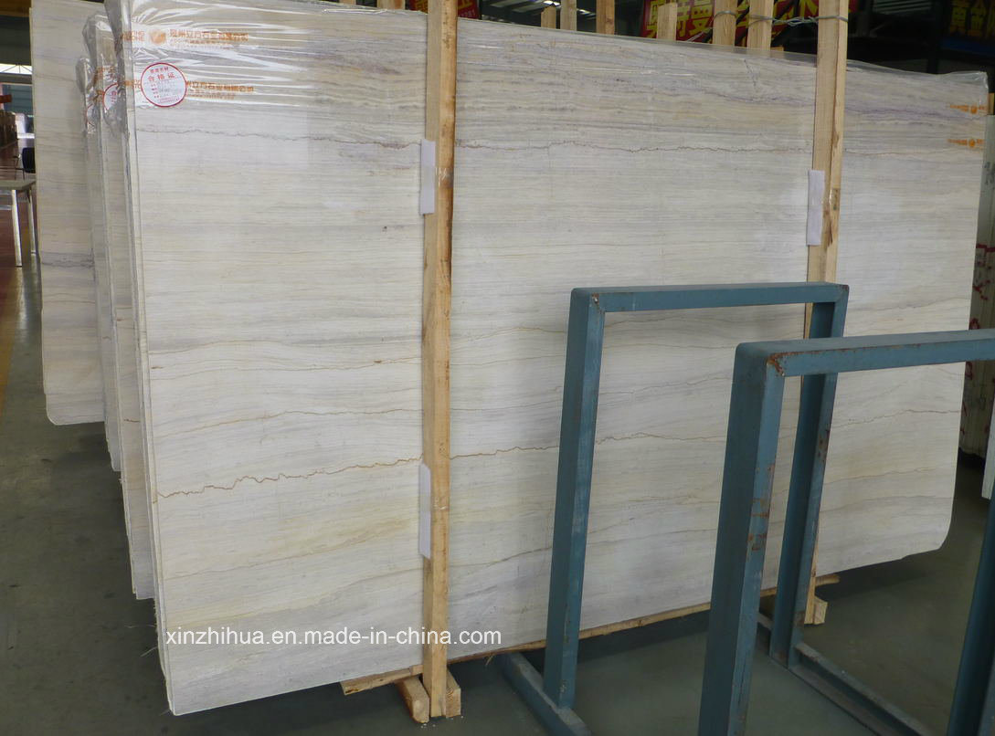 Gingko Timber Marble Beige Marble for Tiles/Countertops pictures & photos