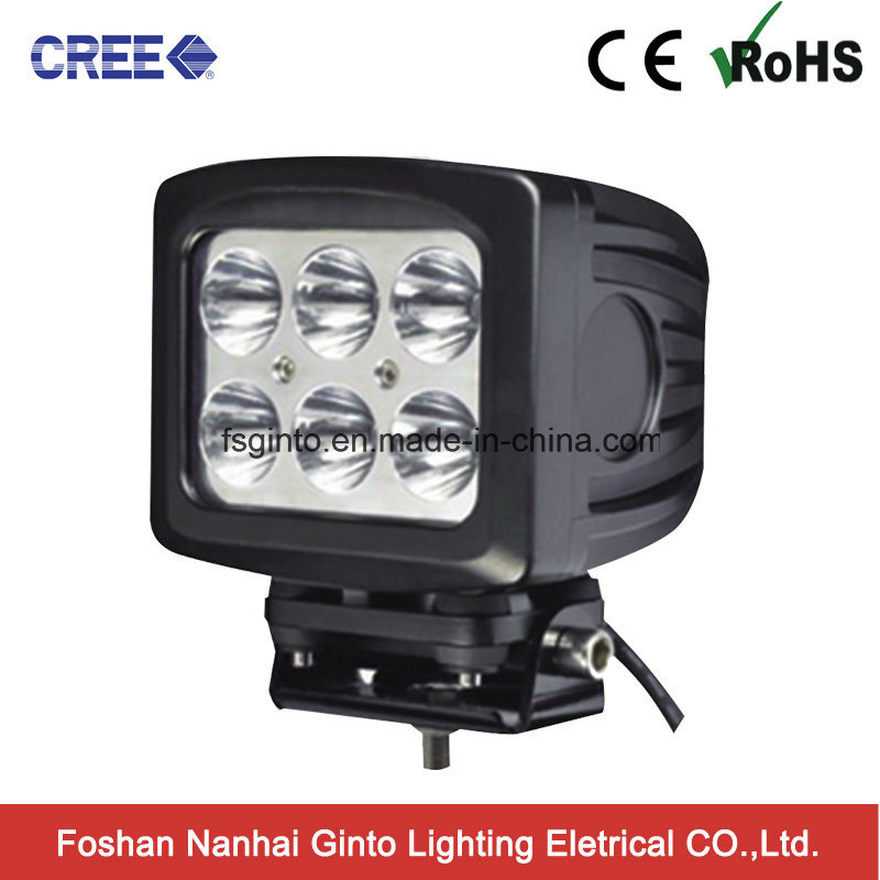 High Power Square 5.5 Inch 60W off Road LED Driving Light for Truck (GT1026-60W)