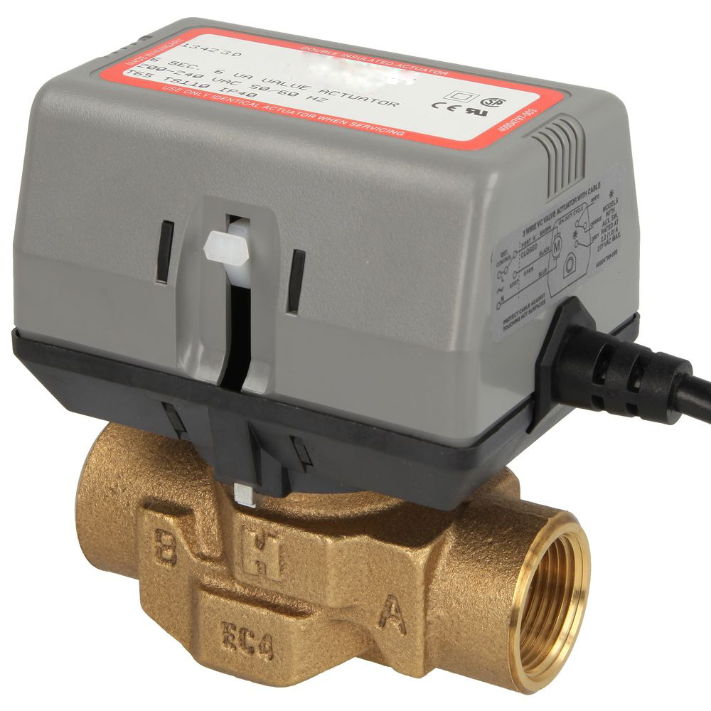China 3 Way Water Controls Switch Heat Zone Valve Replace Belimo ...