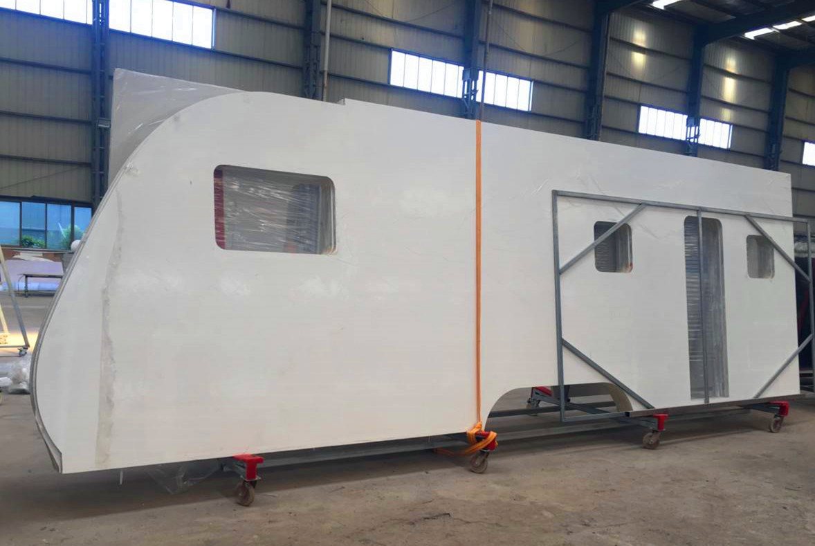 China Composite Fiberglass Rv Sandwich Panel For Caravan