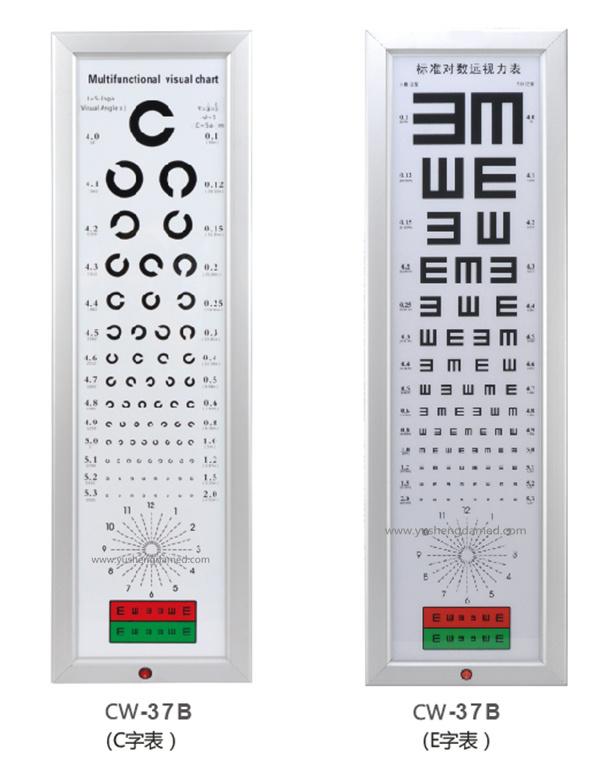 China Led Visual Chart Eye Testing Ophthalmic Eequiment Ce Chart
