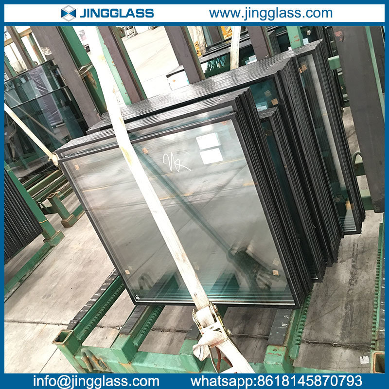 Solar Control Tempered Insulating Glass with Argon