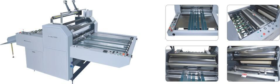 Yfmb-720/920/1100b Wenzhou New Star Electromagnetic Heating Distribution Book Film Fully Automatic Laminator pictures & photos