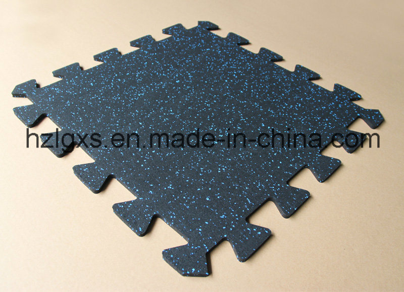 China Epdm Rubber Floor Mat Interlocking Rubber Tile For