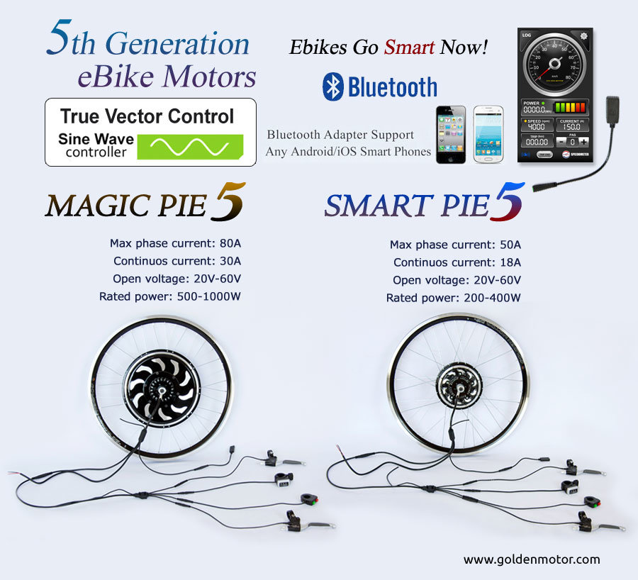High Quality Electric Bike Conversion Kit Magic Pie 5, Smart Pie 5 Kit
