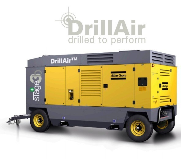 Atlas Copco Portable Screw Air Compressor (XRVS716CD) (19.7m3/min 25bar)