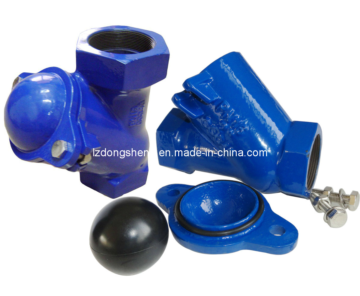 Cast Iron Flanged Float Ball Type Check Valve pictures & photos