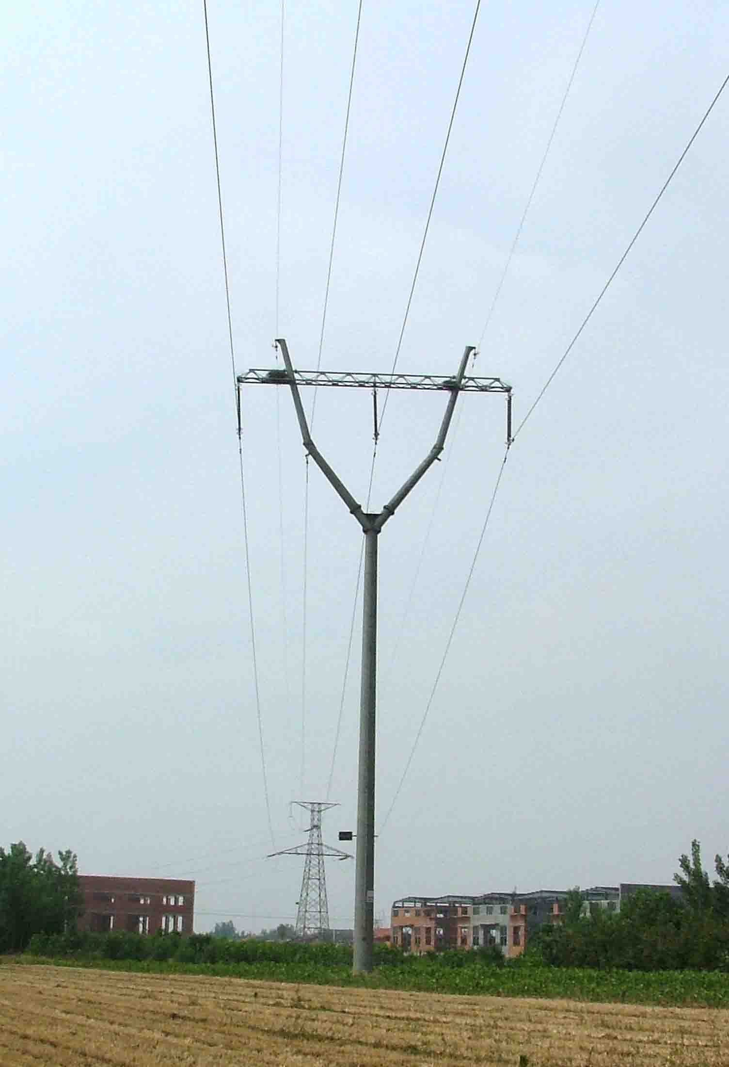 220kv Steel Pole, Transmission Pole