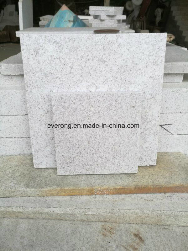 China Natural Stone Pearl White Granite Tile For Countertop