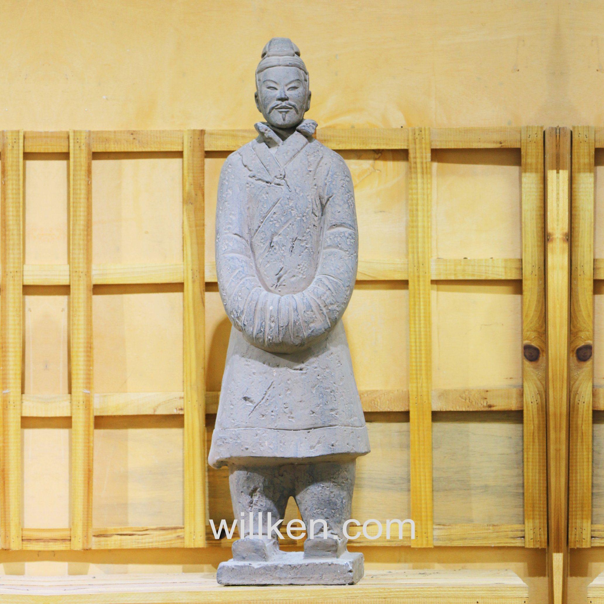 ... China Xi An Antique Statues Replica Garden Decor Terracotta Warriors ...