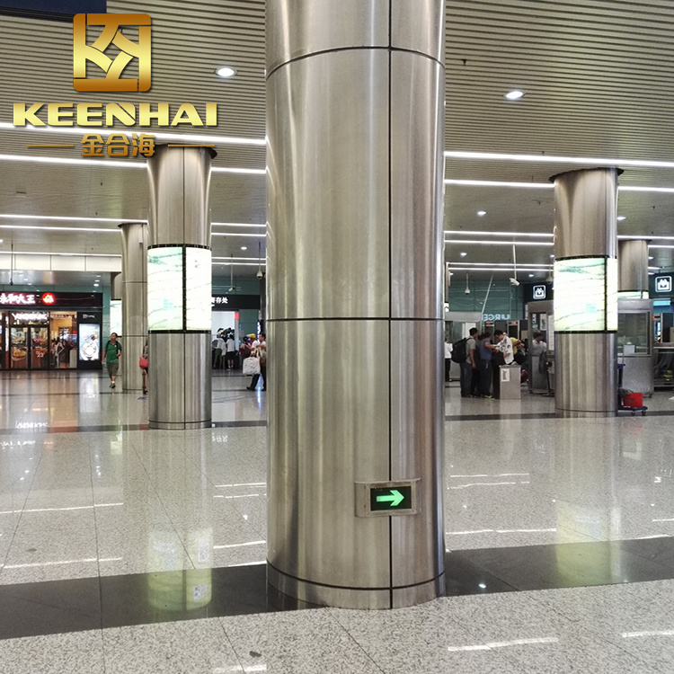 Composite Metal Column Covers : China decorative mirror polished finish stainless steel
