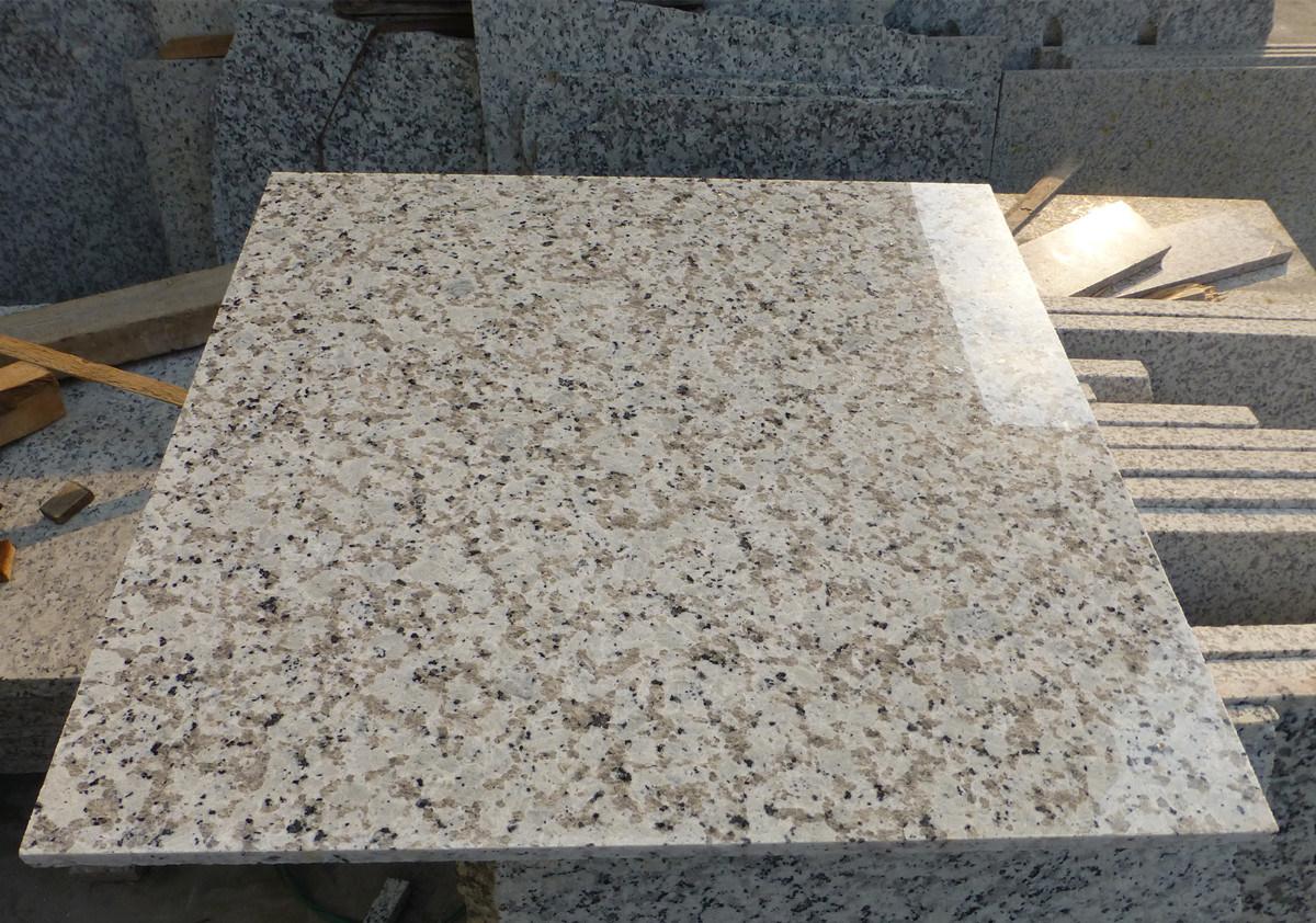 Bala White Granite Tile Stone Building Material Flooring Tiles