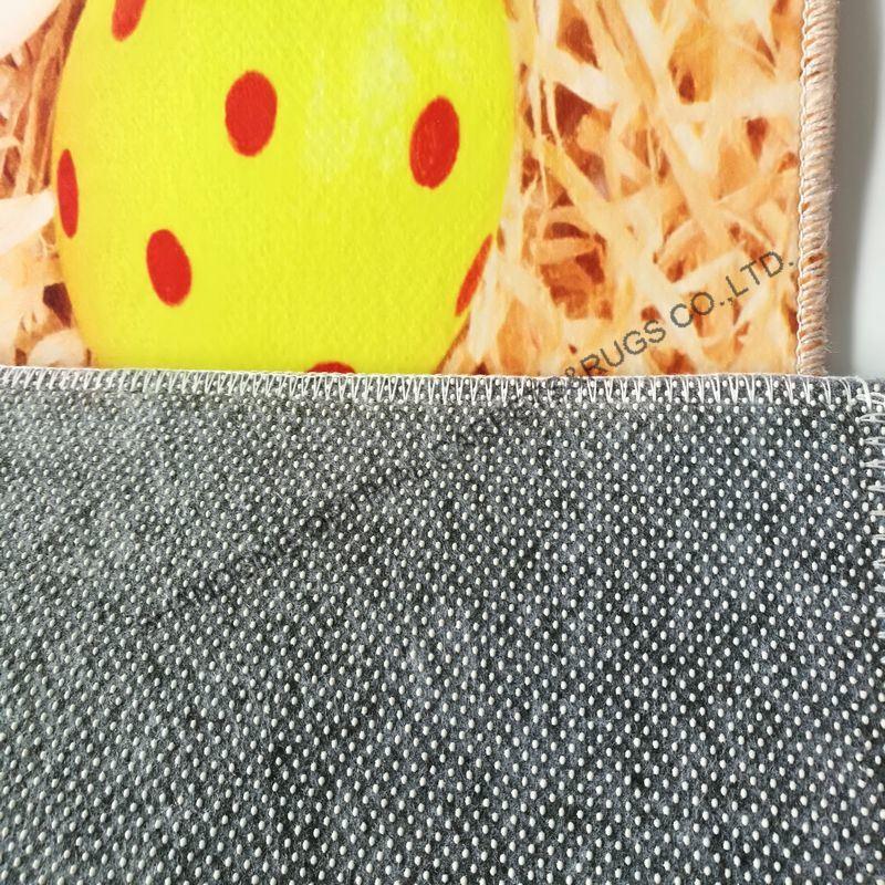 Carpet With Anti Slip Backing