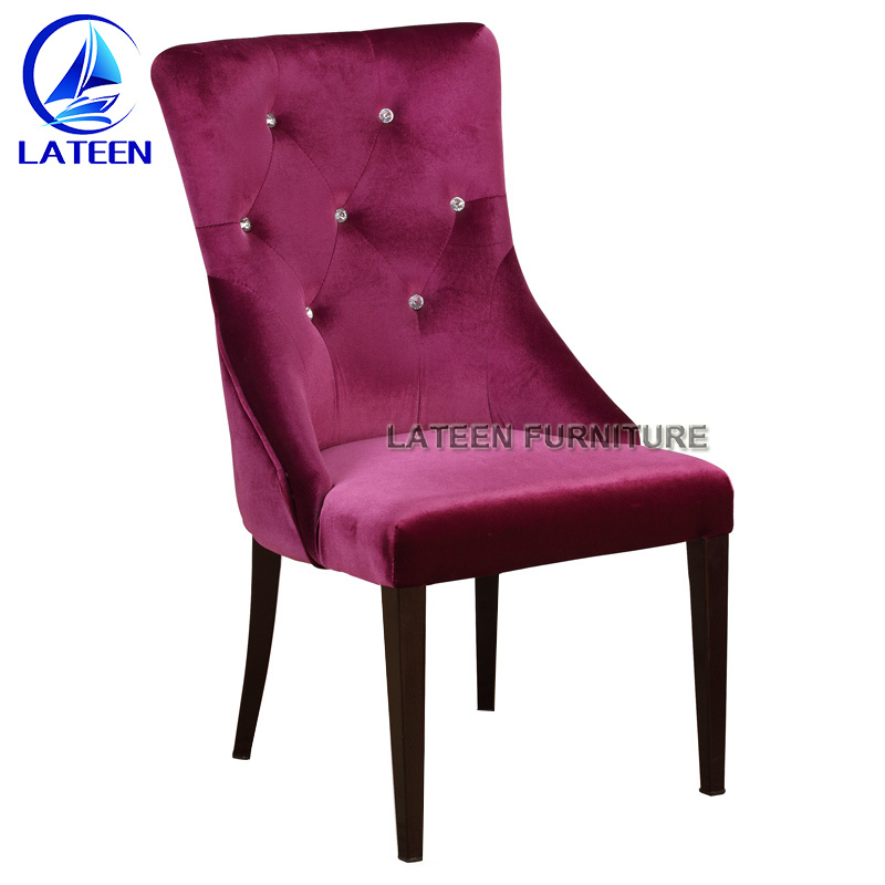 China Manufacture Aluminum Dining Room Chair Restaurant Sofa Chair Magnificent Aluminum Dining Room Chairs