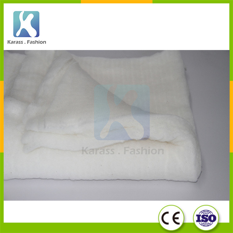 100 Polyester Wadding Batting Material For Mattress Sofa Quilt