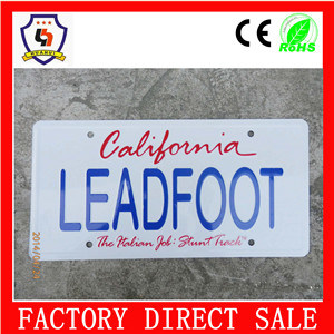 2016 Hot Sale Car License Plate Frame pictures & photos
