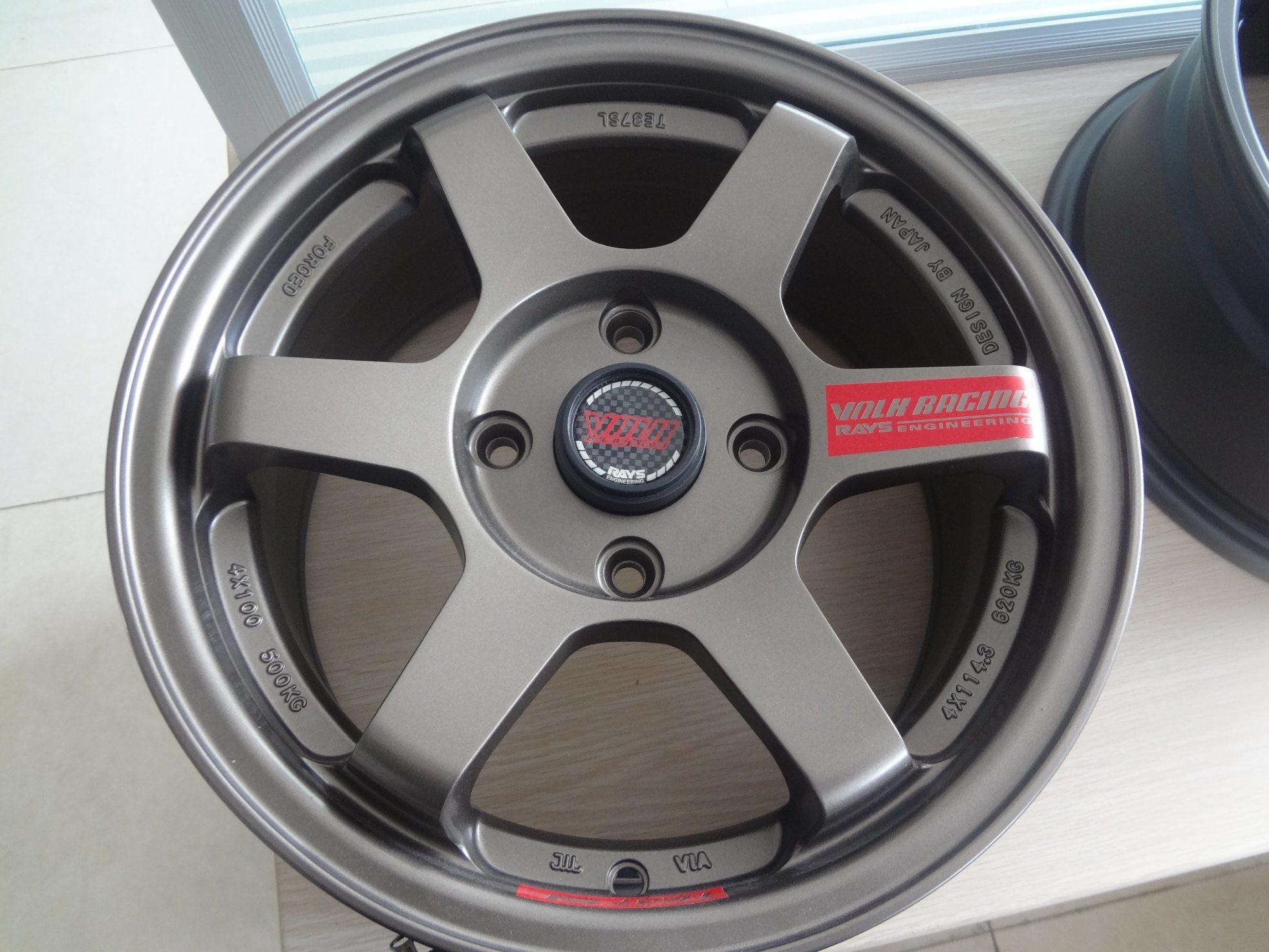 China 17 Inch Alloy Wheel Aluminum Rim 4X100 4X114 3 5X100 5X114 3