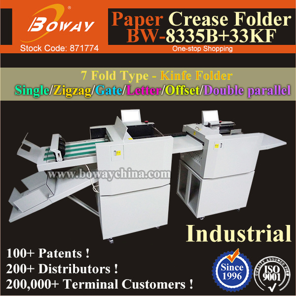 Bi-Direction Perforating Double Direction Partial Perforate Crease Full Auto Folding Paper Machine pictures & photos