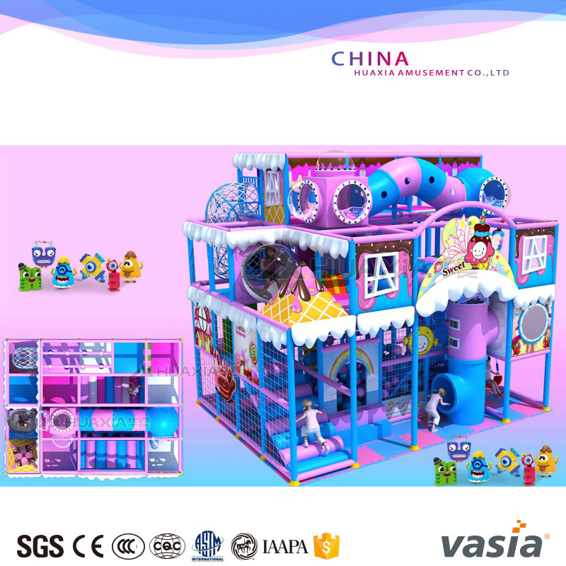 Kids Indoor Soft Play House Indoor Play Ground for Sale pictures & photos