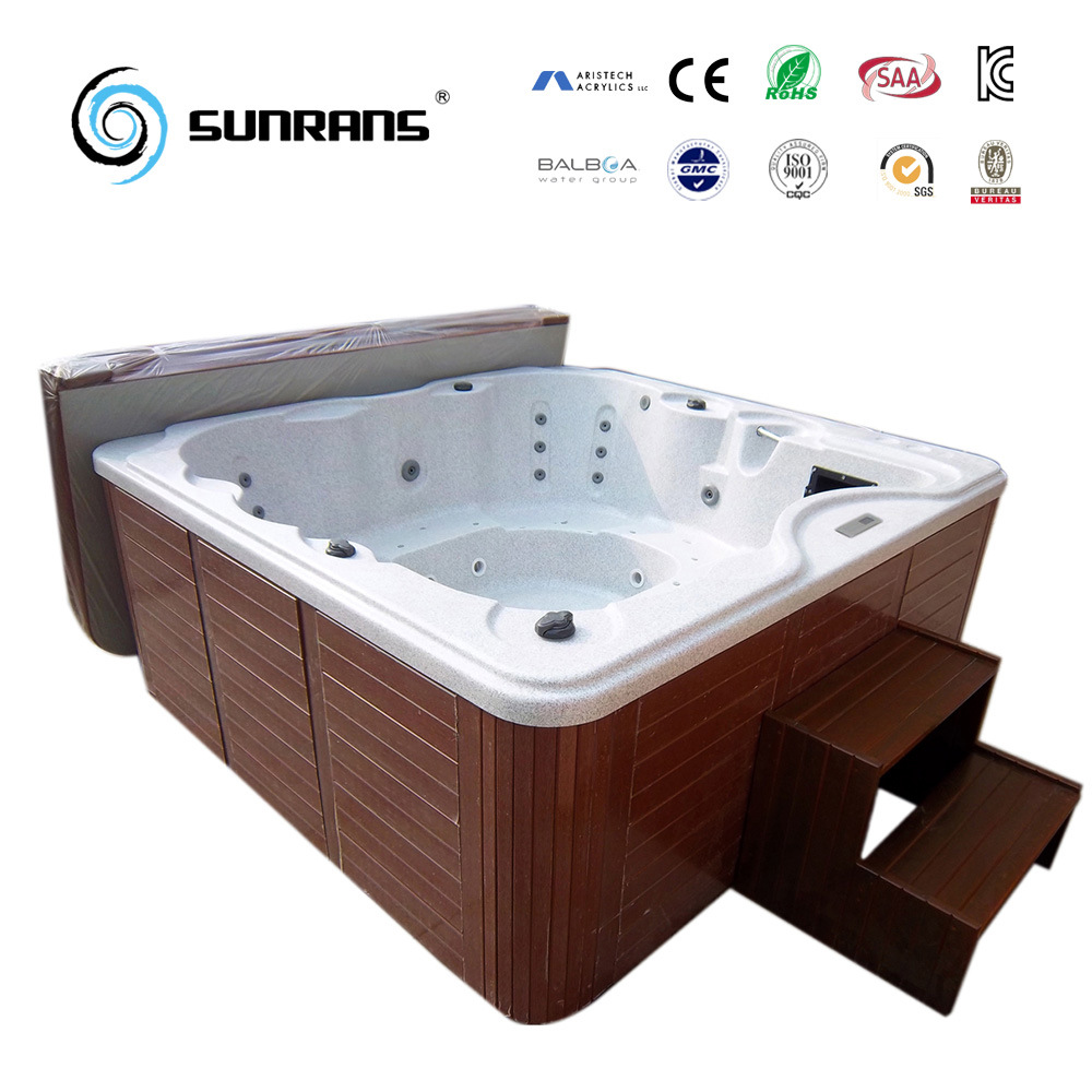 China Outdoor Commercial Portable Large Energy Efficient Hot Tub Jet ...