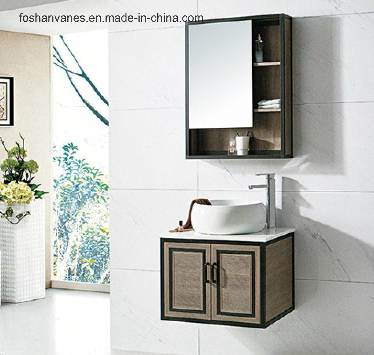 China Wall Hung Space Saving Aluminum Bathroom Vanity Bathroom Sink With Faucet Al 2129 China Bathroom Cabinet Bathroom Vanity