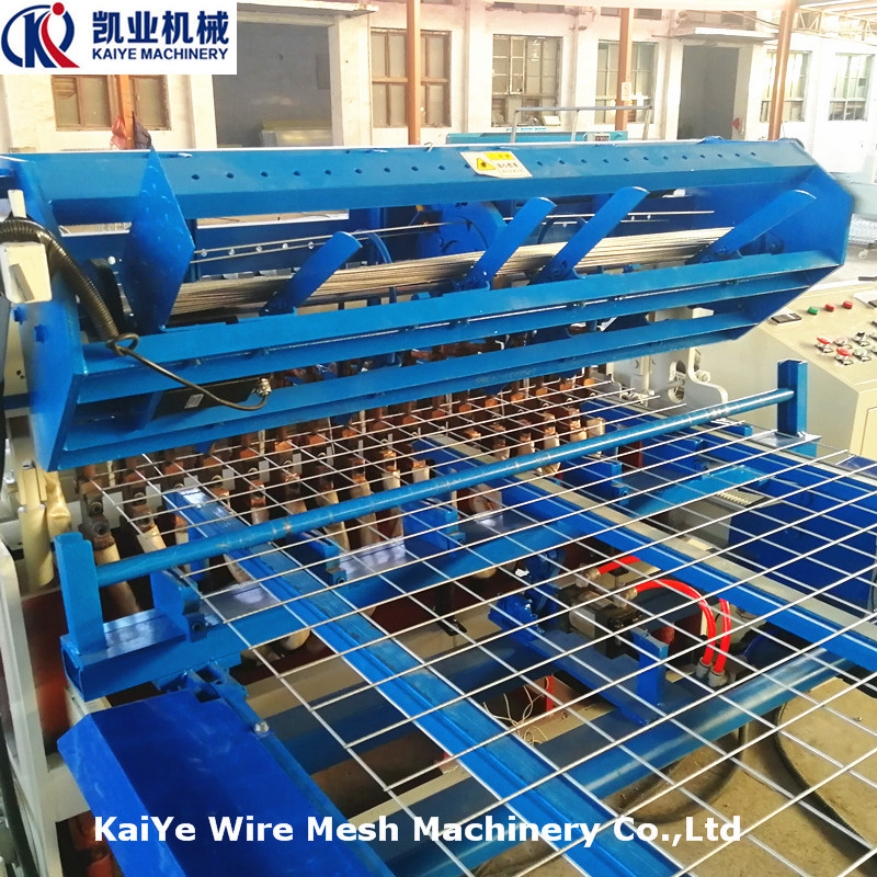 China Full Automatic Welded Wire Mesh Panel Machine - China Wire ...
