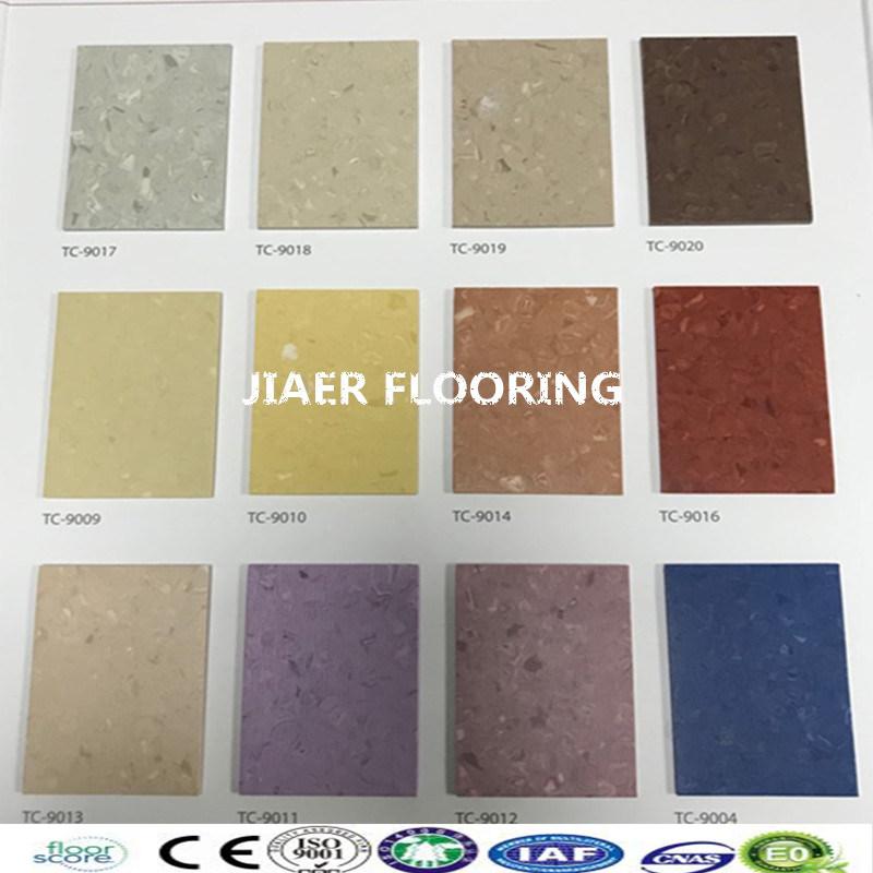 Hospital Vinyl Flooring PVC Floor Sheet In Rolls