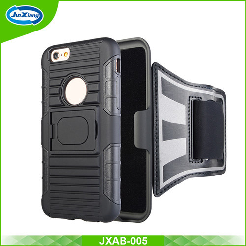 Armband Holster Case for iPhone 6, Running Belt with Slide Holster Defender Case, Sweat Proof Case, Impact Resistant Case pictures & photos