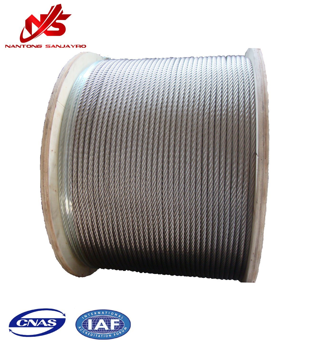 China Galvanized Aircraft 6X19 7/32 Inch Size Steel Wire Rope ...